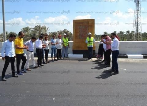 بالصور| بروفة تمهيدية لكوبري بلطيم العلوي قبل افتتاح السيسي له
