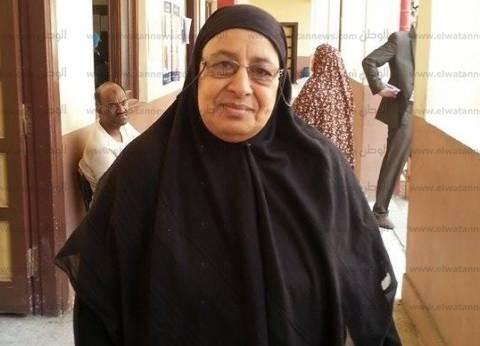 """ناخبة سبعينية: """"الانتخابات حلوة.. لا فيها بلطجية ولا إخوان"""""""