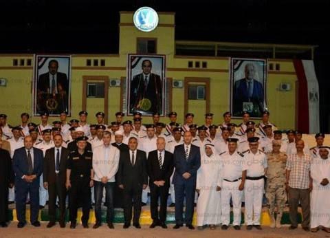 محافظ جنوب سيناء يشارك بمائدة إفطار قوات الأمن