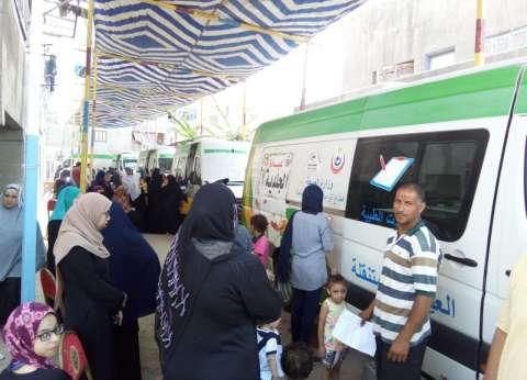 """""""المهن العلمية"""" تنظم قافلة طبية في بورسعيد"""
