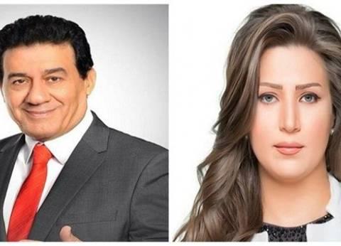 """""""الإعلاميين العرب"""" يكرم إيمان عز الدين ومدحت شلبي"""