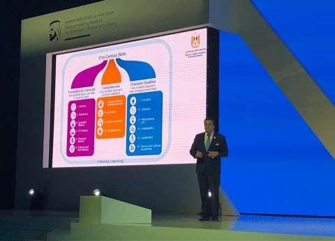 """عبدالغفار يستعرض """"رؤية مصر 2030"""" لتطوير البحث العلمي في """"قمة المعرفة"""""""