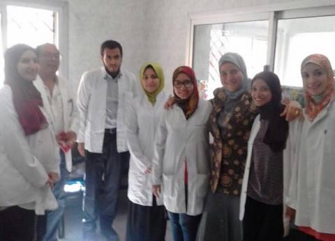 صحة السويس تثني على انضباط طلاب الامتياز بطب الأسنان
