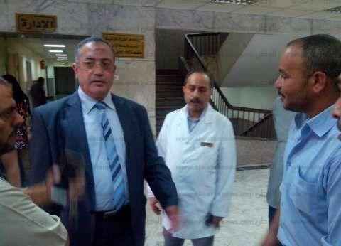 مدير التأمين الصحي في الشرقية يتابع صيانة عيادة منيا القمح