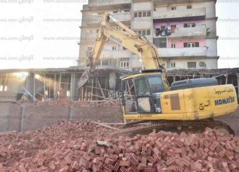 إزالة 79 حالة تعد على الأراضي الزراعية وأملاك الدولة بسوهاج