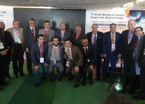 افتتاح اليوم العلمي السنوي الرابع لوحدة جراحات الأطفال بجامعة المنيا