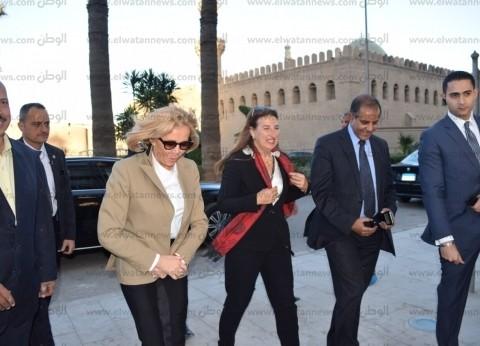 بالصور  قرينة الرئيس الفرنسي تزور جامع محمد علي بالقلعة