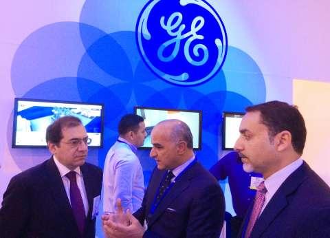 """وزير البترول يزور أجنحة معرض""""الفرص الاستثمارية"""" في أمريكا"""