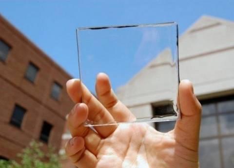 اختراع بطارية شفافة تشحن بأشعة الشمس