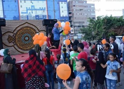 استمرار توافد الأهالي على الحدائق والمتنزهات بالغربية احتفالا بالعيد