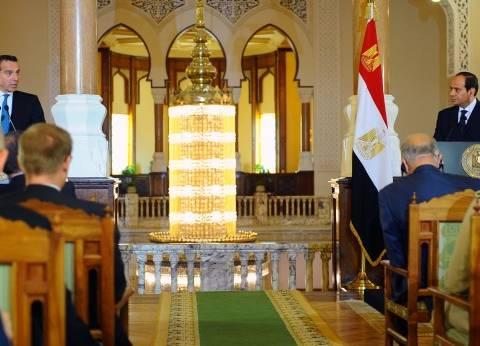 عاجل| السيسي: علاقة مصر والنمسا تتسم بالاحترام المتبادل