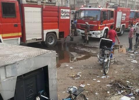 إخماد حريق في استراحة مدير مرور السويس