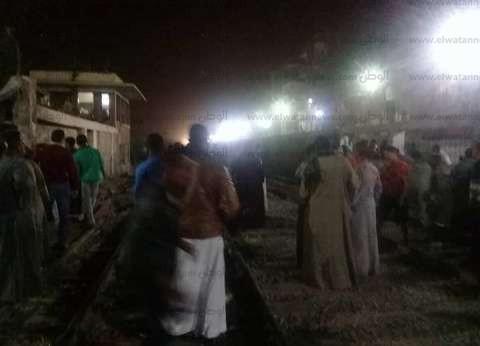 عاجل| اصطدام قطاري ركاب على خط المناشي في البحيرة