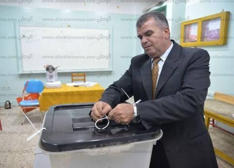 بالصور| إغلاق اللجان الانتخابية بالدقهلية وقوات التأمين تتسلم الصناديق