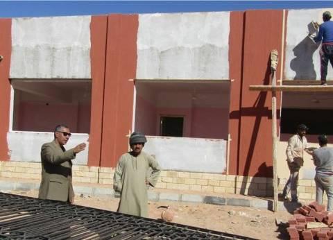 الانتهاء من إنشاءات المدرسة الثانوية الصناعية بأبو رديس بنسبة 95%