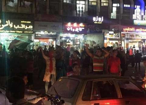 بالصور| احتفالات في شوارع الشرقية بصعود مصر إلى كأس العالم