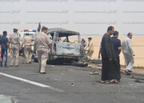 """إصابة 9 مديرين بـ""""جنوب سيناء"""" في حادث أثناء طريقهم لاجتماع المحافظة الأسبوعي"""