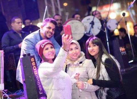 بالصور| محمد رشاد يتألق في حفل رأس السنة بالإسكندرية