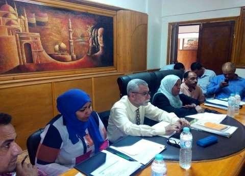 لجنة من وزارة التنمية المحلية تزور مركز الداخلة بالوادي الجديد