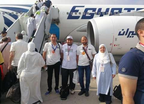 """غدا.. """"مصر للطيران"""" تنقل 5250 حاجا إلى الأراضي المقدسة"""