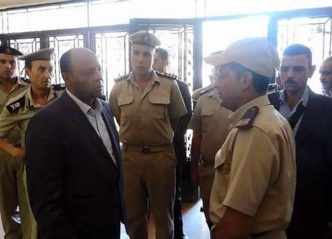 مدير أمن الغربية يتفقد مبنى قوات الأمن ومركز شرطة المحلة الكبرى