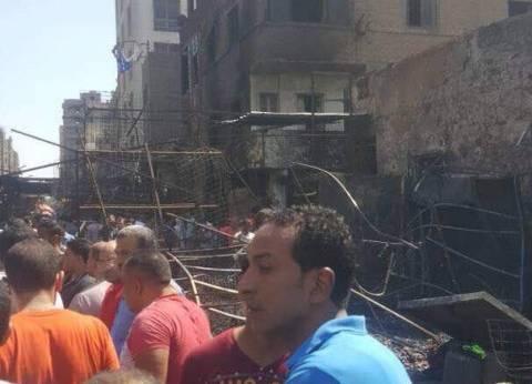 """نائب محافظ الجيزة: احتراق 42 محلا وباكية وكشكا وعقارا بـ""""حريق إمبابة"""""""