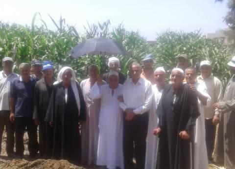 """""""زراعة المنوفية"""": بدء الحملة القومية لمحصول الذرة الشامية"""