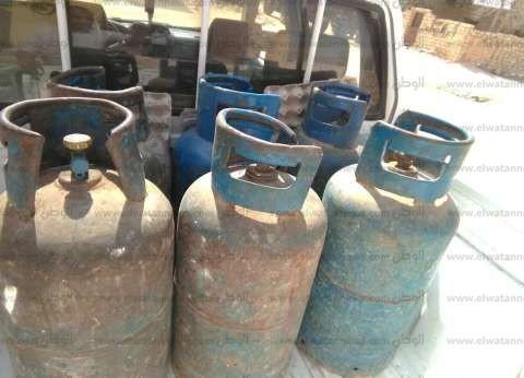 ضبط سيارة محملة بـ160 أسطوانة بوتاجاز بدون فواتير في الدقهلية