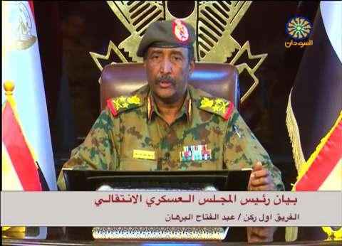 """""""الانتقالي السوداني"""": البرهان عقد اجتماعا مع وفد من فرنسا ومصر"""