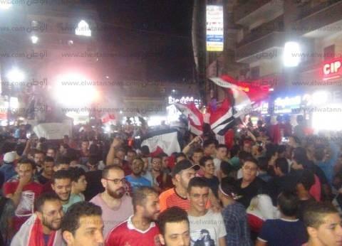 بالصور| المنوفية تحتفل بتأهل المنتخب لكأس العالم