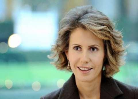 زوجة الأسد تلتقي وفدا برلمانيا روسيا