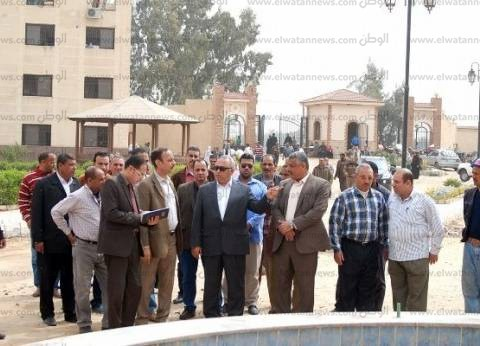 محافظ الشرقية يتفقد مستشفى العزازي للصحة النفسية في أبو حماد