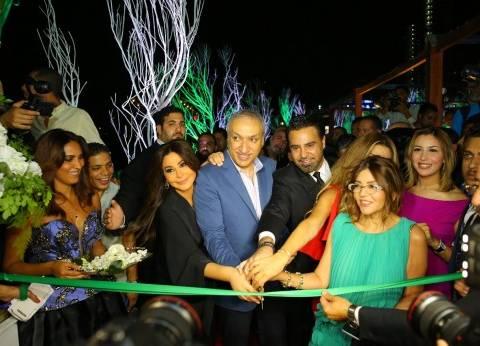 بالصور| سميرة سعيد وعاصي الحلاني ونوال الزغبي في افتتاح روتانا كافيه