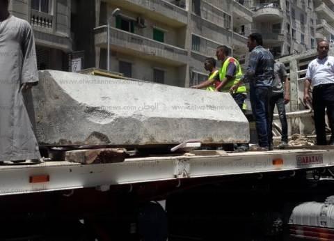 """""""تابوت الإسكندرية"""" يصل مخازن مصطفى كامل الأثرية"""