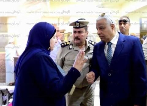 بالصور| مدير أمن كفر الشيخ يطمئن على تقديم الخدمات للمواطنين بالإدارات