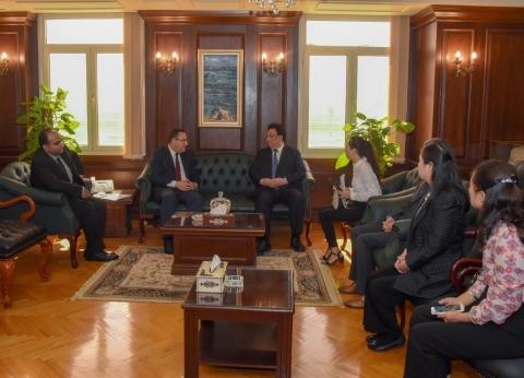 """محافظ الإسكندرية يستقبل وفد مدينة """"شنزين"""" الصينية لبحث سبل التعاون"""