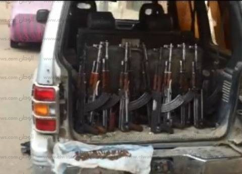 الأمن العام يضبط 46 سلاحا ناريا في حملة مكبرة ببحيرة المنزلة