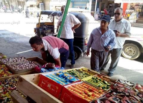 بالصور| حملة لرفع الإشغالات المخالفة من شوارع الحامول بكفر الشيخ
