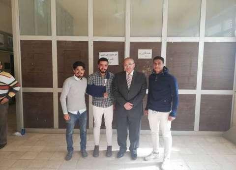 """اتحاد الطلاب بـ""""زراعة المنوفية"""" يعلن فوز محمود عبد الشافي رئيسـا"""
