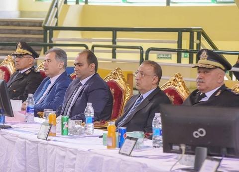 """مدير أمن الإسكندرية ونائب المحافظ يشهدان """"قرعة الحج"""""""