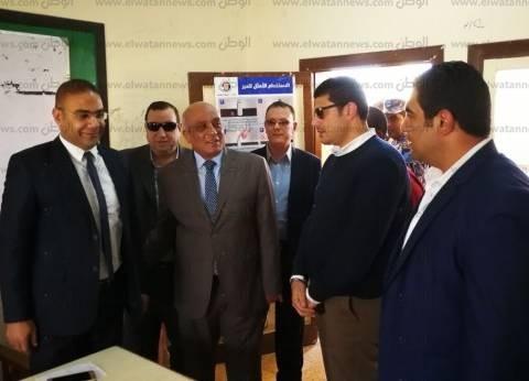 مدير أمن البحيرة يتفقد عددا من لجان الانتخابات في كفرالدوار