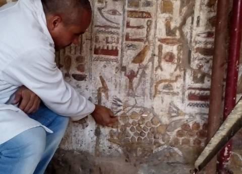 """""""الآثار"""": ظهور نقوش لعلاقة أمنحتب الثالث والآلهة بـ""""مقصورة الإسكندر"""""""