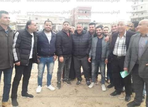 مدير الشباب والرياضة يزور مدينة الشيخ زويد لحضور نهائي المراكز