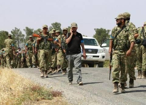 الجيش السوري الحر في طريقه إلى عفرين بعد بدء عملية تركية