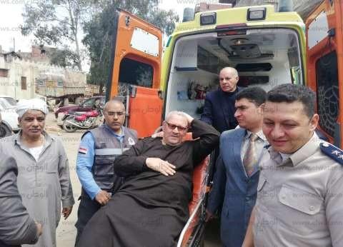 """""""صحة الدقهلية"""": نقل 5 مرضى و3 مسنين للاستفتاء بسيارات الإسعاف"""