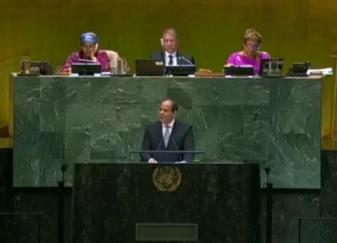 مباحثات وخطابات وجولات.. حصاد زيارة السيسي للأمم المتحدة