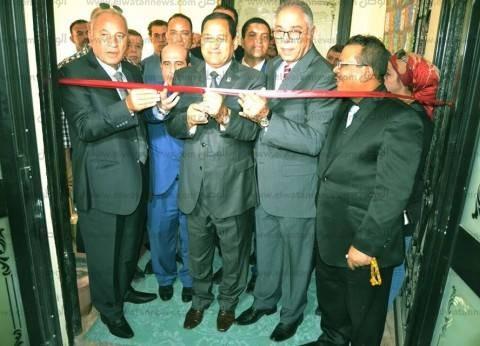بالصور| افتتاح مكتب الشهر العقاري بنادي طنطا بالغربية بحضور أحمد الزند