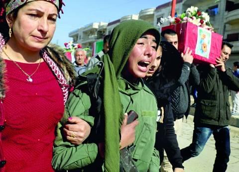 القصف متواصل.. وفرنسا تحذر «أنقرة»: محاربة الأكراد يجب ألا تكون ذريعة للغزو