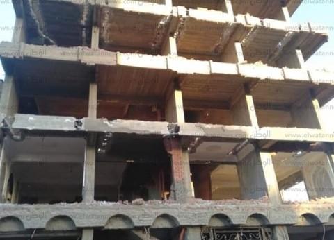 حملة لإزالة العقارات المخالفة في القاهرة