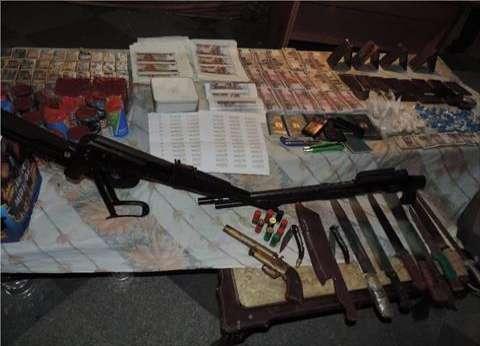 ضبط 16 قطعة سلاح و41 طلقة نارية في حملة أمنية غرب الإسكندرية
